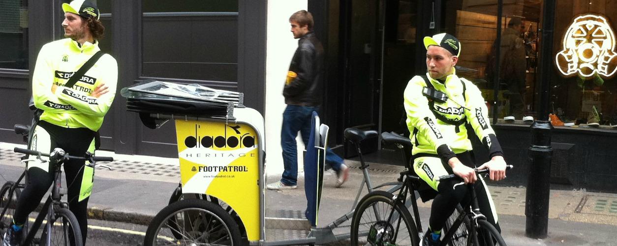 Diadora Rickshaw Advertising