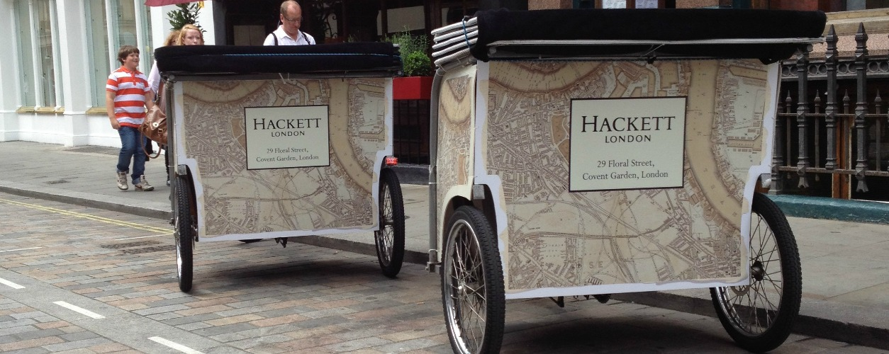Rickshaws Hired by Hackett