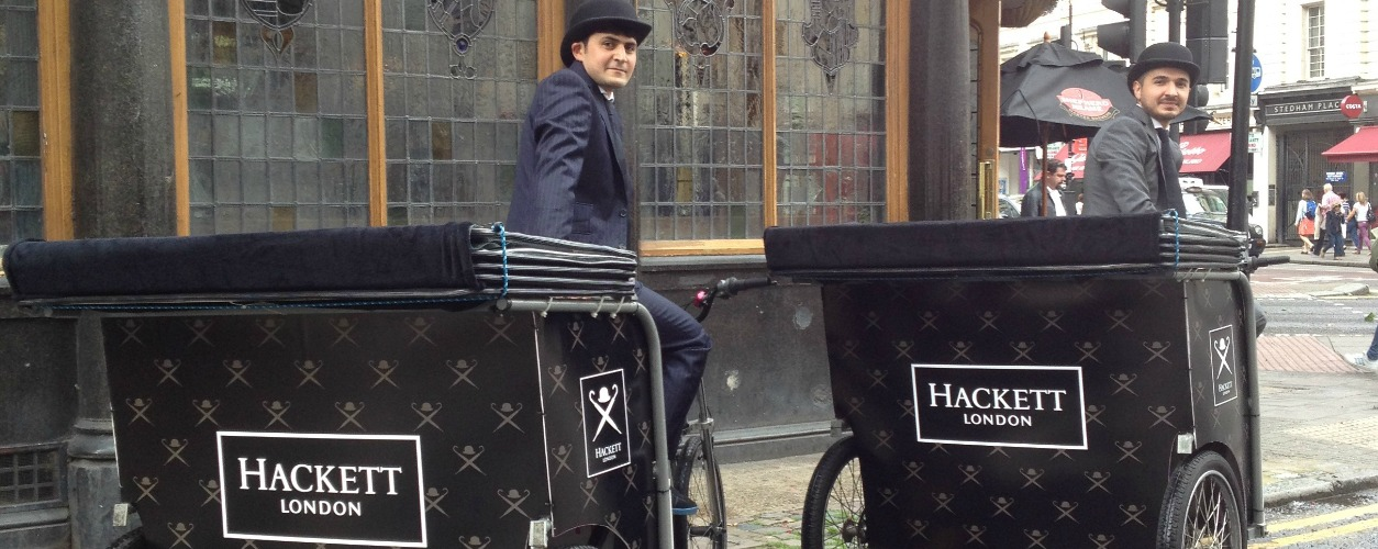 Hackett Bicycle Rickshaws