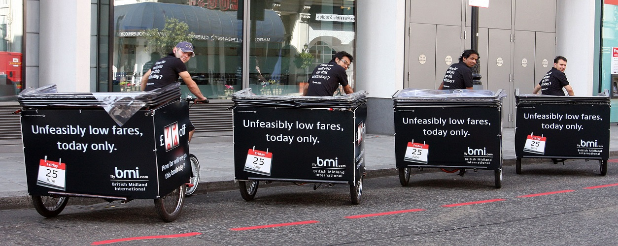 London Rickshaws Branded bmi